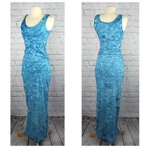 Elie Tahari Tie Dye Twist Bodycon Maxi Dress XS